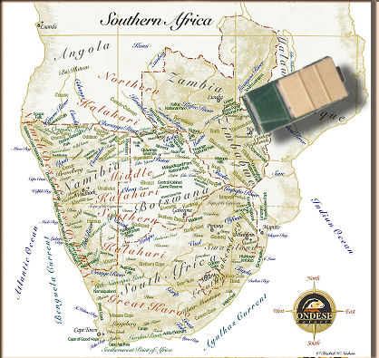 Map Of South Africa And Zimbabwe.Ondese Overland Self Drive And Guided Photo Safaris In South Africa